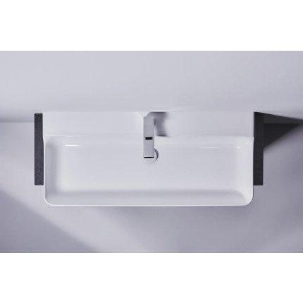 Lavoar Ideal Standard Conca 100cm, fara preaplin, montare pe mobilier, finisaj suplimentar spate