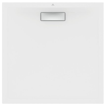 Cadita de dus joasa patrata Ideal Standard Ultra Flat New 90x90cm acril, alb mat