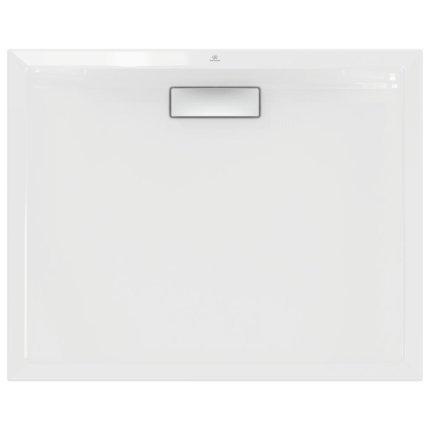 Cadita de dus joasa dreptunghiulara Ideal Standard Ultra Flat New 100x80cm acril, alb