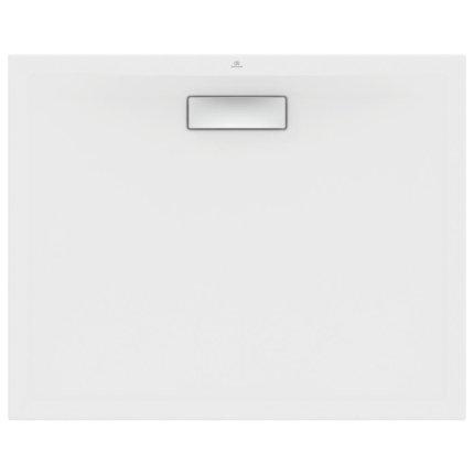 Cadita de dus joasa dreptunghiulara Ideal Standard Ultra Flat New 100x80cm acril, alb mat