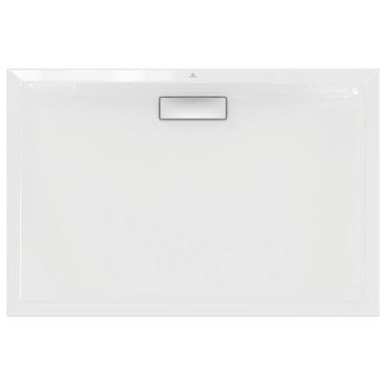 Cadita de dus joasa dreptunghiulara Ideal Standard Ultra Flat New 120x80cm acril, alb