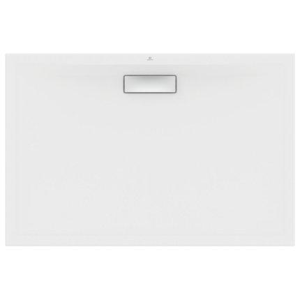 Cadita de dus joasa dreptunghiulara Ideal Standard Ultra Flat New 120x80cm acril, alb mat