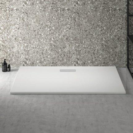 Cadita de dus joasa dreptunghiulara Ideal Standard Ultra Flat New 140x80cm acril, alb mat