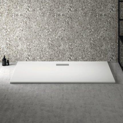 Cadita de dus joasa dreptunghiulara Ideal Standard Ultra Flat New 160x80cm acril, alb