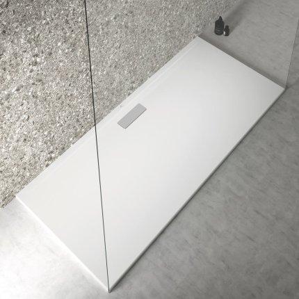 Cadita de dus joasa dreptunghiulara Ideal Standard Ultra Flat New 180x80cm acril, alb mat