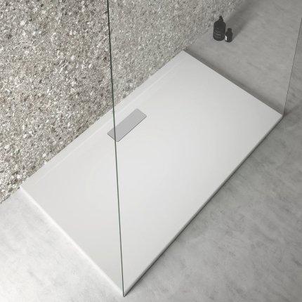 Cadita de dus joasa dreptunghiulara Ideal Standard Ultra Flat New 120x70cm acril, alb mat