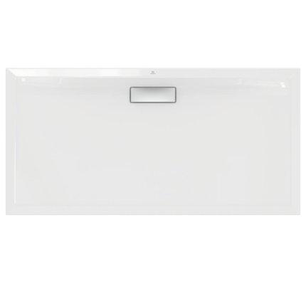 Cadita de dus joasa dreptunghiulara Ideal Standard Ultra Flat New 140x70cm acril, alb