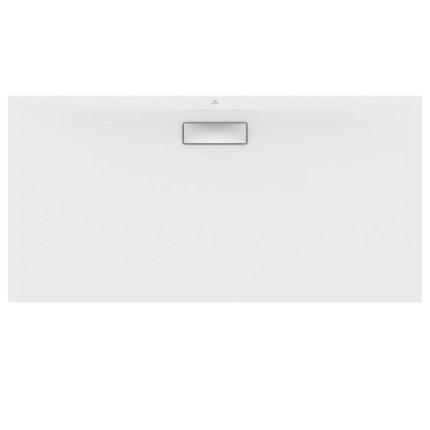 Cadita de dus joasa dreptunghiulara Ideal Standard Ultra Flat New 140x70cm acril, alb mat