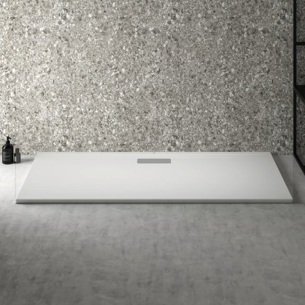 Cadita de dus joasa dreptunghiulara Ideal Standard Ultra Flat New 160x70cm acril, alb