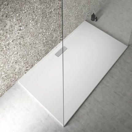 Cadita de dus joasa dreptunghiulara Ideal Standard Ultra Flat New 160x90cm acril, alb