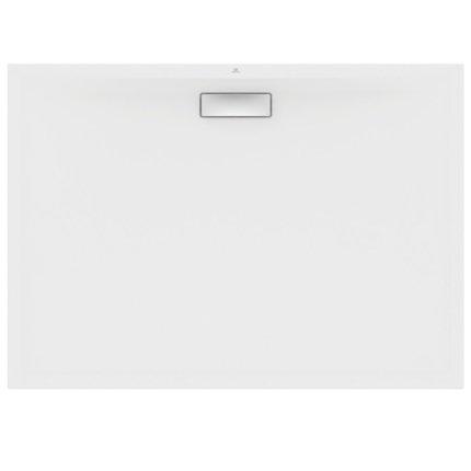 Cadita de dus joasa dreptunghiulara Ideal Standard Ultra Flat New 140x100cm acril, alb mat