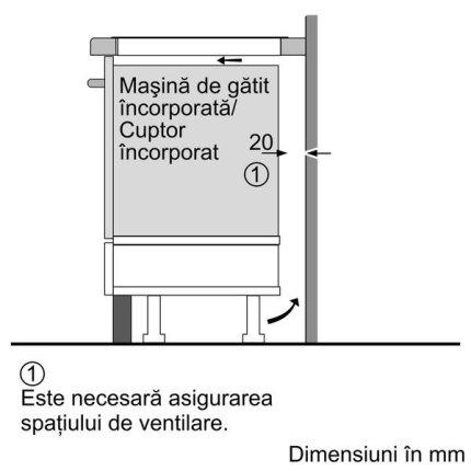 Plita cu inductie incorporabila Neff Line T59PT60X0 90cm, 5 zone, FlexInduction, design fara rama