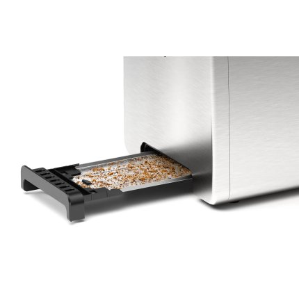 Prajitor de paine Bosch TAT3P420 DesignLine, 2 felii, inox