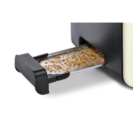 Prajitor de paine Bosch TAT6A117 ComfortLine, 2 felii, bej