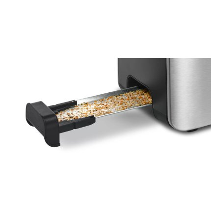 Prajitor de paine Bosch TAT6A803 ComfortLine LongSlot, inox