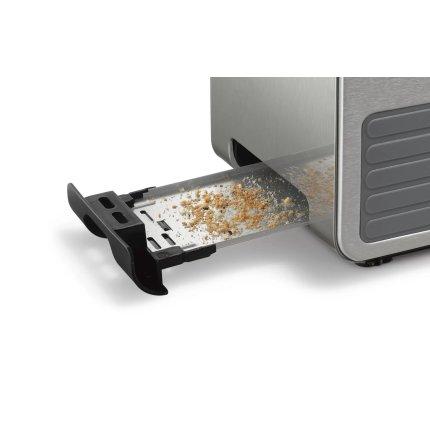 Prajitor de paine Bosch TAT7S25 Styline, 2 felii, grafit