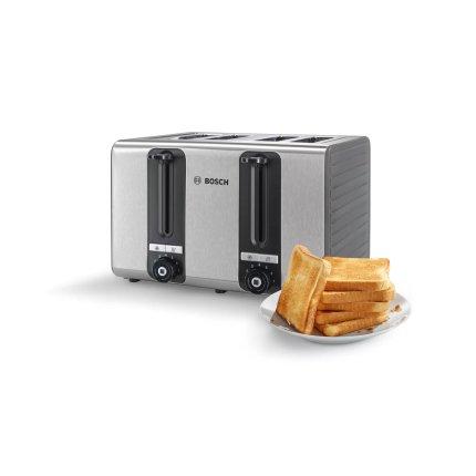Prajitor de paine Bosch TAT7S45, 4 felii, grafit