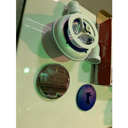 Sifon cadita Radaway Turboflow 2 TB21 crom diametru 90mm EXPUS