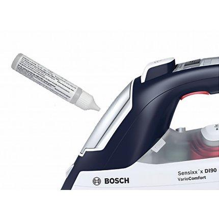 Fier de calcat Bosch TDI953022V Sensixx'x DI90 VarioComfort, 3000W, Sensor Steam, AntiShine, i-Temp Advanced, talpa PalladiumGlissee, magic night blue / alb