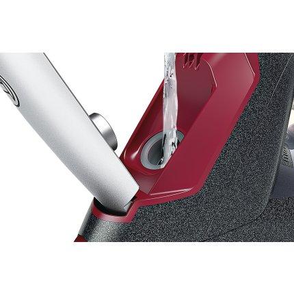 Fier de calcat Bosch TDI953222V Sensixx'x DI90 VarioComfort, 3200W, Sensor Steam, AntiShine, i-Temp Advanced, talpa PalladiumGlissee, antracit metalic / rosu