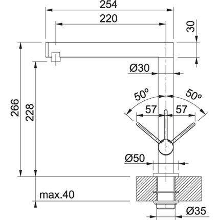 Baterie bucatarie Franke Esprit aspect inox