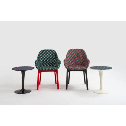 Masuta Kartell TipTop design Philippe Starck & Eugeni Quitlet, editie Double J, d48.5cm, h50, model pic-nic
