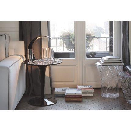 Veioza Kartell Taj Mini design Ferruccio Laviani, LED 2.8W, h33cm, albastru azur mat