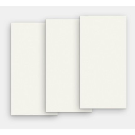Gresie portelanata FMG Chromocode 3D Maxfine 300x150cm, 6mm, Titanium White Lucidato