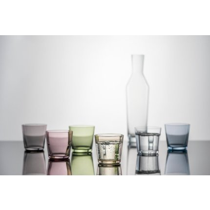 Set 4 pahare apa Zwiesel Glas Together 367ml, olive