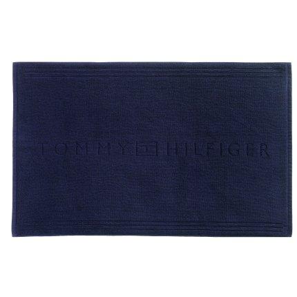 Covor de baie Tommy Hilfiger Plain 2 60x120cm, Albastru Navy