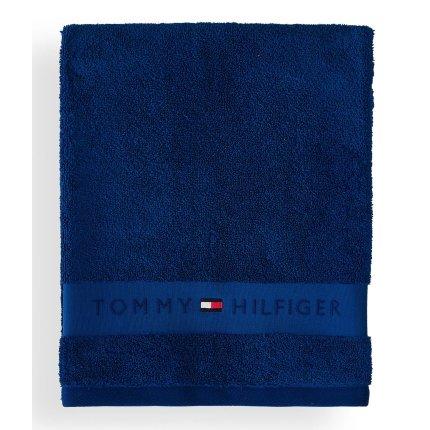 Prosop de baie Tommy Hilfiger Plain 2 50x100cm, Albastru Regatta
