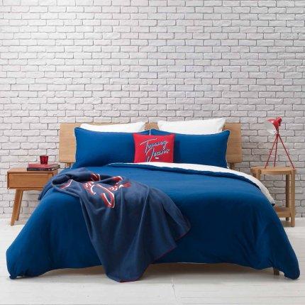 Fata de perna Tommy Jeans TJ Soft 60x60cm, albastru