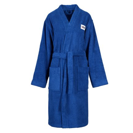 Halat de baie kimono Tommy Jeans TJ Soft M, albastru