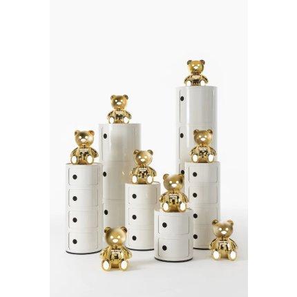 Veioza Kartell Toy - Moschino by Jeremy Scott, LED 1.2W E14, h30cm, auriu
