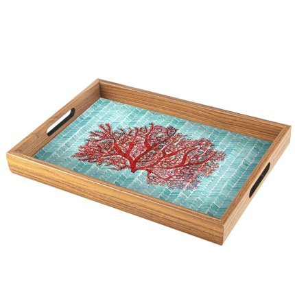 Tava Manopoulos 45x32cm design Coral