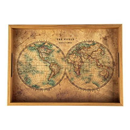 Tava Manopoulos 45x32cm design Map