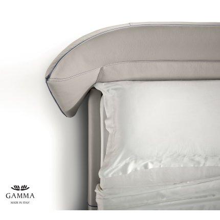 Pat Gamma Tulip Night pentru saltea 180x200cm, piele Zero Impact F300, HandMade in Italy
