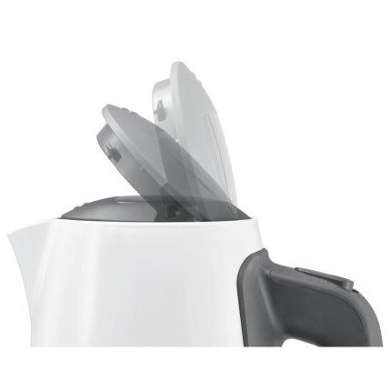 Fierbator Bosch TWK6A011 ComfortLine 2400W, cana termoizolanta 1.7 litri, alb - gri inchis