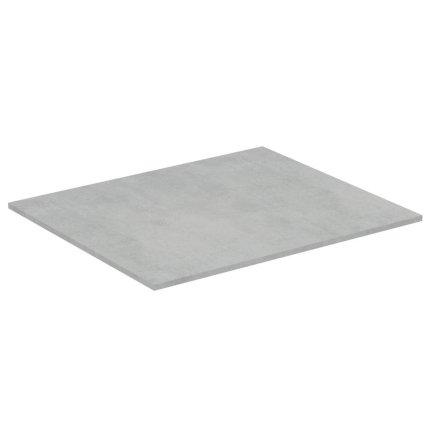 Blat suport pentru dulap suspendat Ideal Standard Adapto 60x50.5x1.2cm, gri