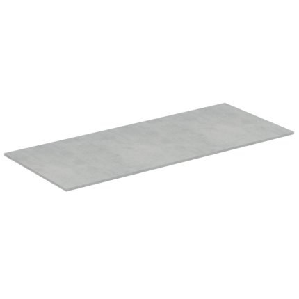 Blat suport pentru dulap suspendat Ideal Standard Adapto 120x50.5x1.2cm, gri