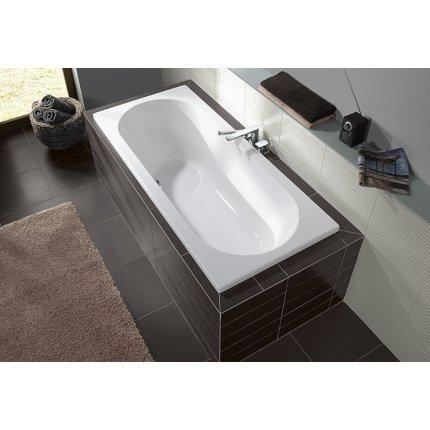 Cada rectangulara Villeroy & Boch O.Novo Duo 190x90x50cm, acril, alb alpin