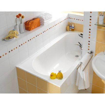 Cada Villeroy & Boch Libra 170x75x43.2cm, compozit, picioare incluse, alb alpin