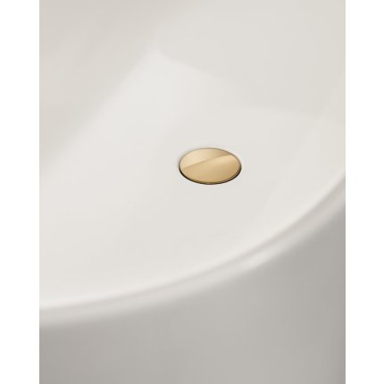 Cada free-standing Villeroy & Boch Finion 170x70x62cm, alb alpin, finisaje Gold