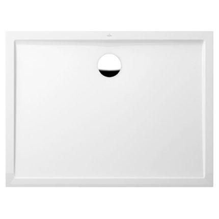 Cadita de dus rectangulara Villeroy & Boch Futurion Flat 120x80cm, alb
