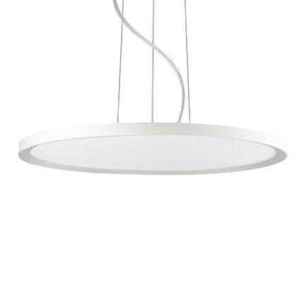 Suspensie Ideal Lux Ufo SP1 Medium LED, 1x50W, 55x30-105cm, alb