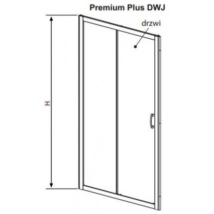 Usa de nisa culisanta Radaway Premium Plus DWJ 130