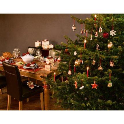 Decoratiune brad Villeroy & Boch My Christmas Tree Bell Reindeers 7cm