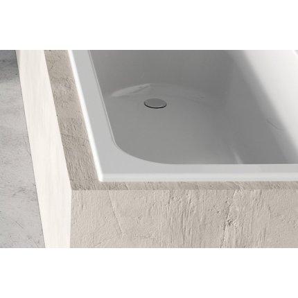 Cada baie rectangulara Ravak Chrome Slim 170x75cm, acril