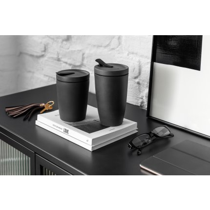 Cana cu capac like. by Villeroy & Boch Manufacture Rock To Go 0.35 litri