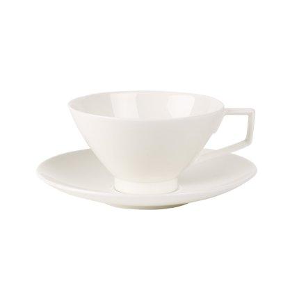 Ceasca si farfuriuta ceai Villeroy & Boch La Classica Nuova